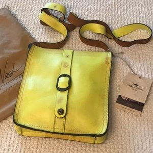 Patricia Nash Italian leather pouch bag